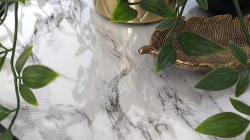 Frank : Faux marble top