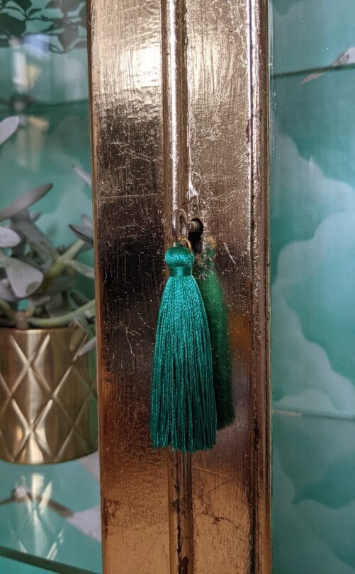 Florence, door with tassel on key